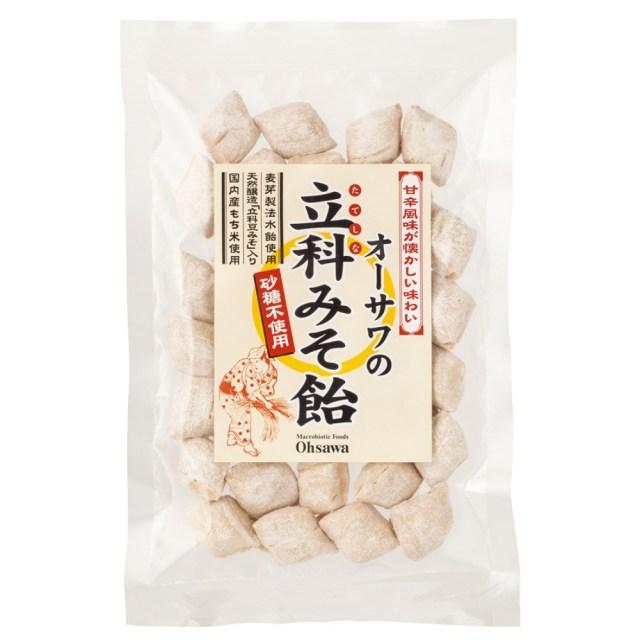 オーサワの立科みそ飴(切飴) 120g【季節品のため休止中】