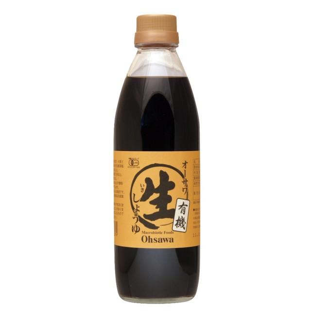 オーサワの有機生(なま)醤油 500ml