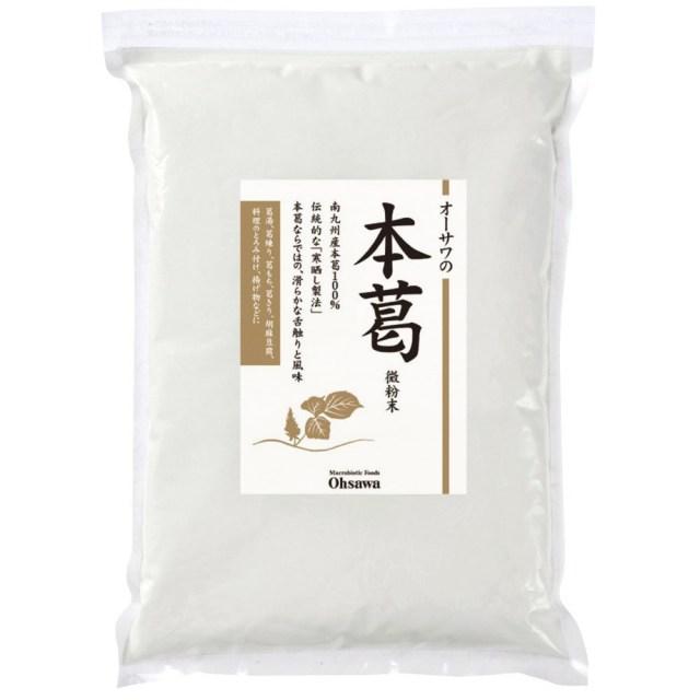 オーサワの本葛(微粉末) 1kg