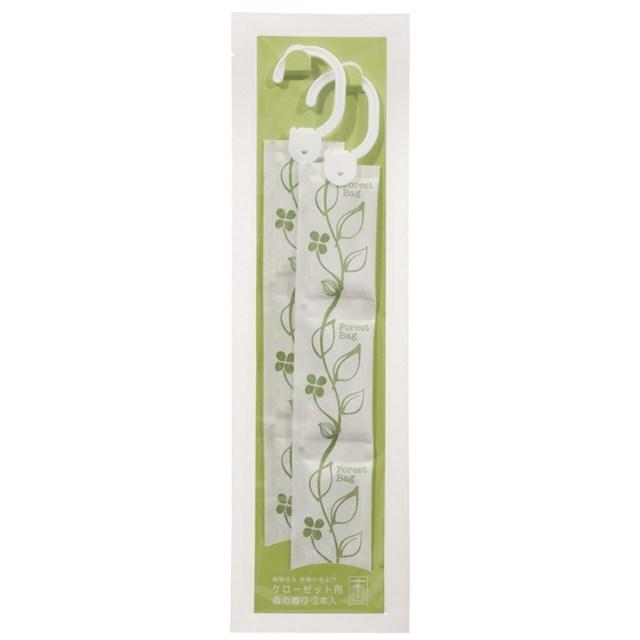 植物成分防虫剤(森の香り)クローゼット用 2本入り(9g×2本)