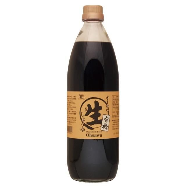 オーサワの有機生(なま)醤油 1L