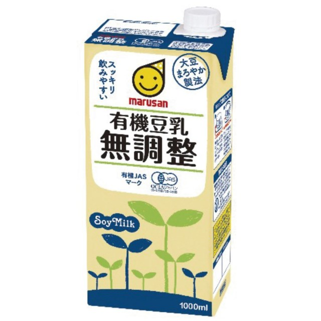 有機豆乳 無調整 1L