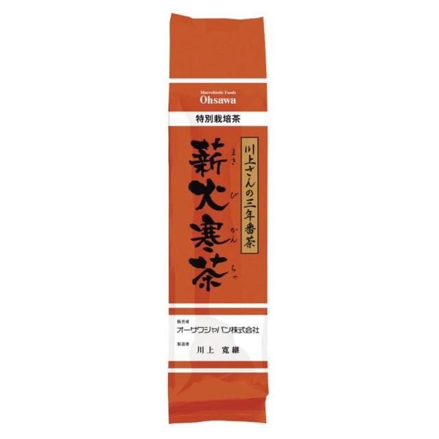 川上さんの三年番茶 薪火寒茶(まきびかんちゃ) 120g