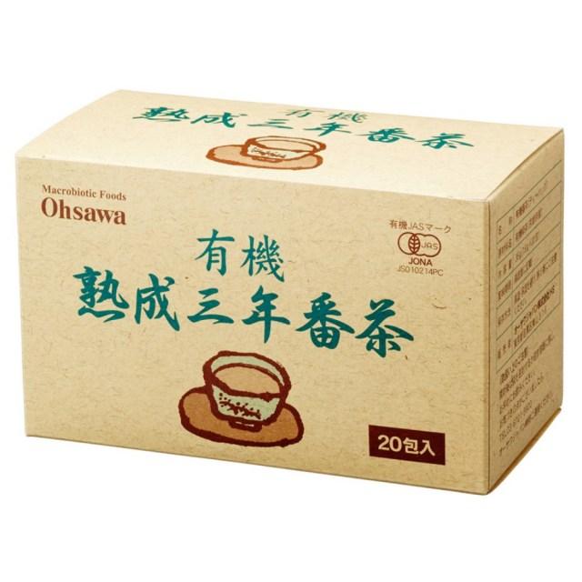 有機熟成三年番茶 (ティーバッグ) 36g(1.8g×20包)