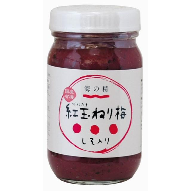 有機 紅玉(べにたま)ねり梅(しそ入) 250g 【原料不足のため休止中】