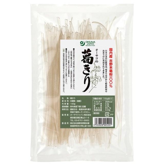 オーサワの葛きり(乾燥) 100g
