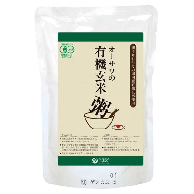 有機玄米粥 200g