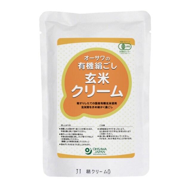 有機絹ごし玄米クリーム 200g
