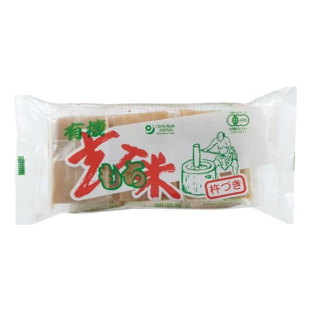 有機玄米もち 300g(6個)