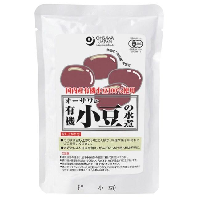 有機小豆の水煮 230g(固形量200g)