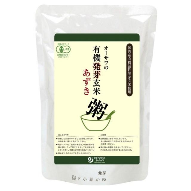 オーサワの有機発芽玄米あずき粥 200g