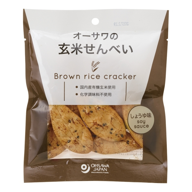 【20%OFF】オーサワの玄米せんべい(しょうゆ味) 30g【さらに9%OFF対象!】