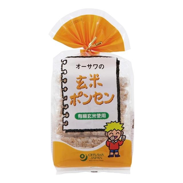 オーサワの玄米ポンセン 8枚