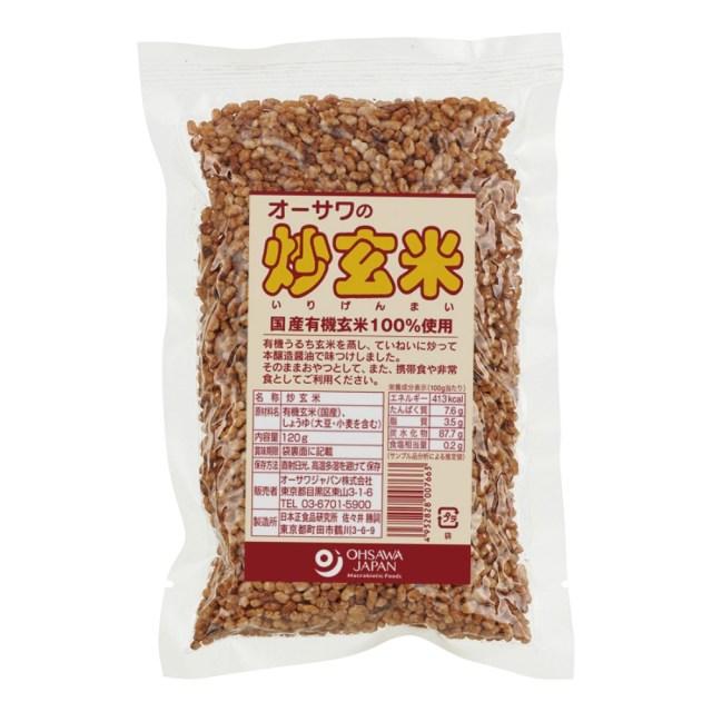 オーサワの炒玄米 120g