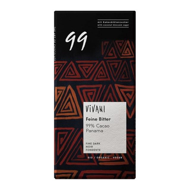 ViVANI(ヴィヴァーニ) オーガニック エキストラダークチョコレート 99% 80g