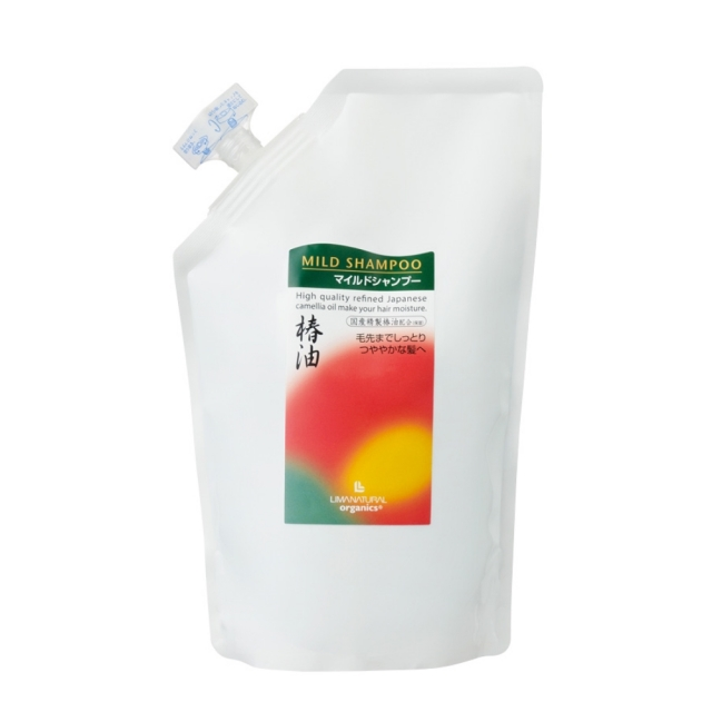 リマナチュラルオーガニック マイルドシャンプー (詰替用) 500ml