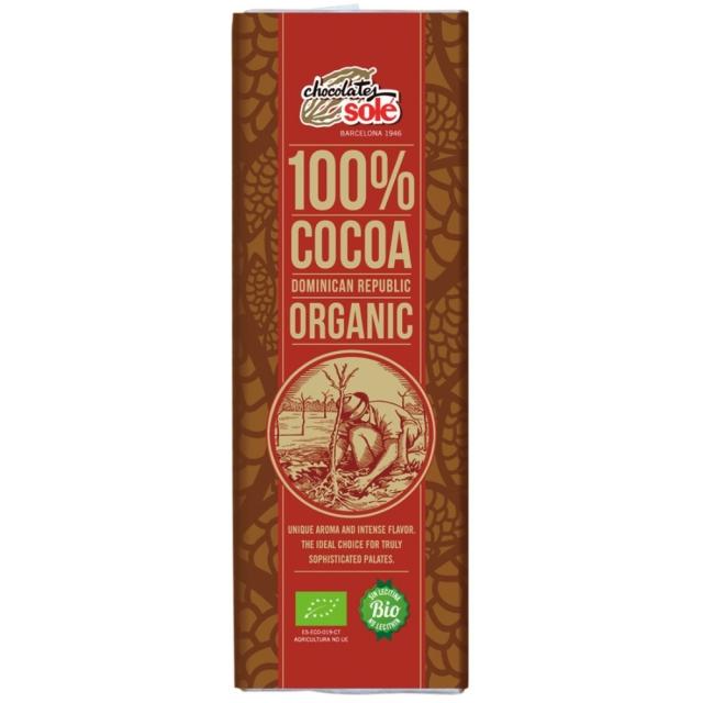 【10%OFF】チョコレートソール オーガニック ダークチョコレート 100% 25g【さらに9%OFF対象!】
