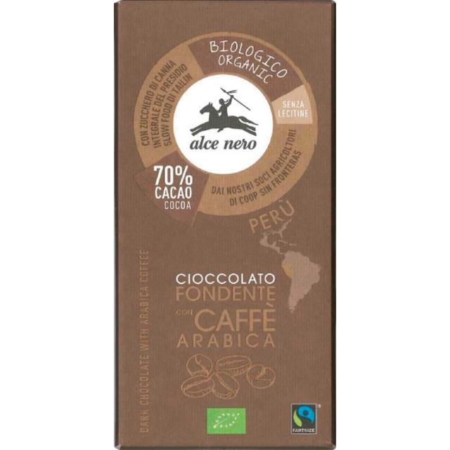 アルチェネロ 有機ダークチョコレート・コーヒー 50g