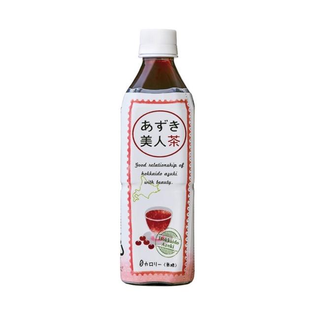 あずき美人茶(北海道産小豆使用) ペットボトル 500ml
