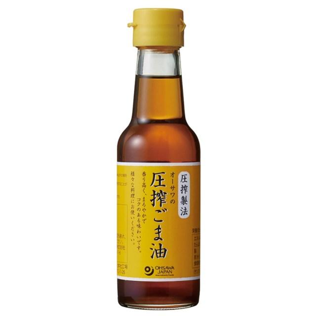 オーサワの圧搾ごま油 (卓上) 140g
