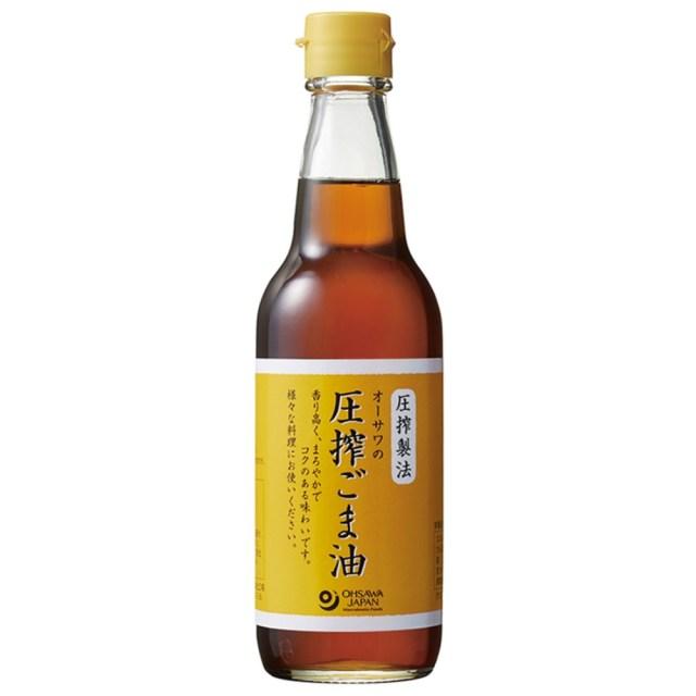 オーサワの圧搾ごま油 (ビン) 330g