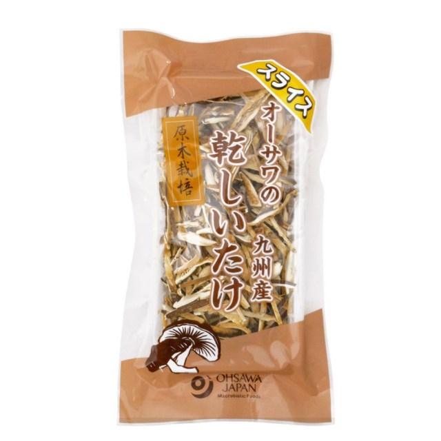 オーサワの九州産乾椎茸 (スライス) 40g