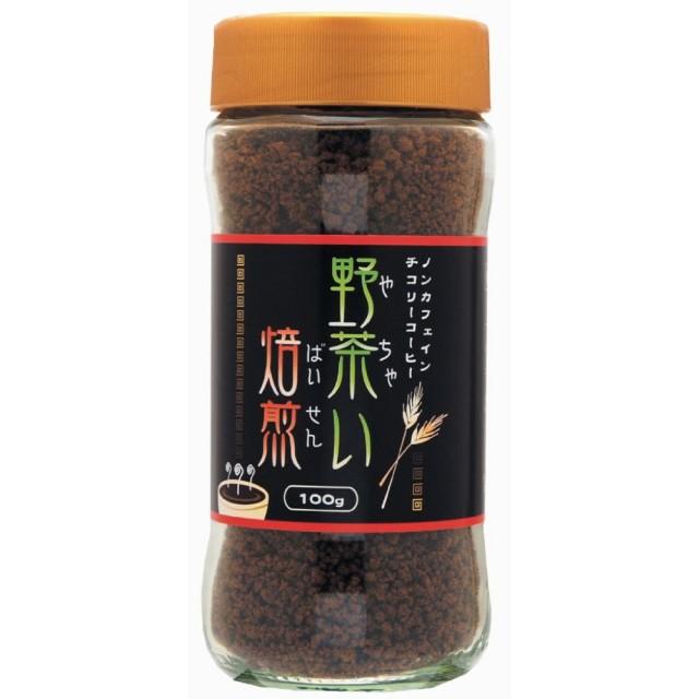 野茶い焙煎 チコリーコーヒー (ビン) 100g