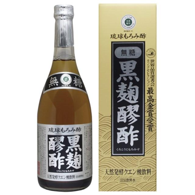 黒麹醪酢(くろこうじもろみす)(無糖) 720ml