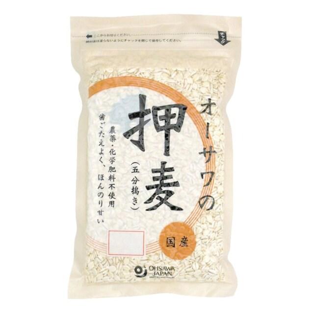 オーサワの押麦(五分搗き) 300g