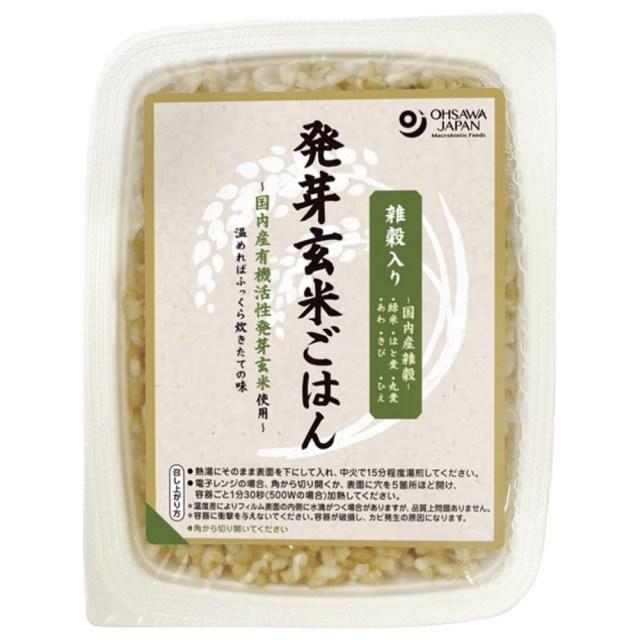 雑穀入り発芽玄米ごはん 160g