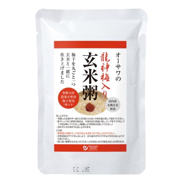 オーサワの龍神梅入り玄米粥 200g