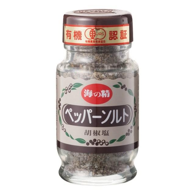 海の精 有機ペッパーソルト(卓上ビン) 55g