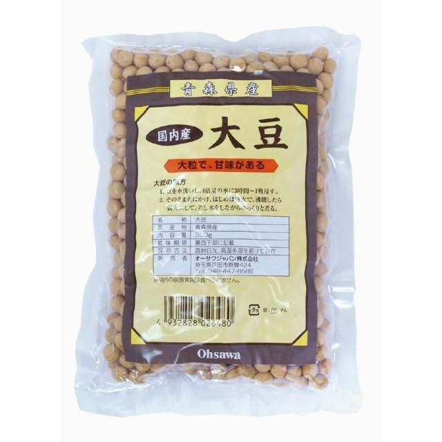 オーサワの国内産大豆(青森産) 300g