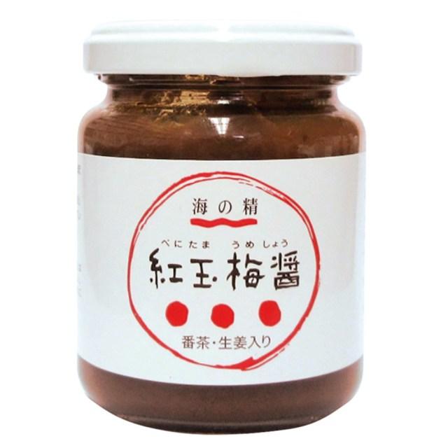 紅玉梅醤(べにたまうめしょう) 番茶・生姜入り 130g