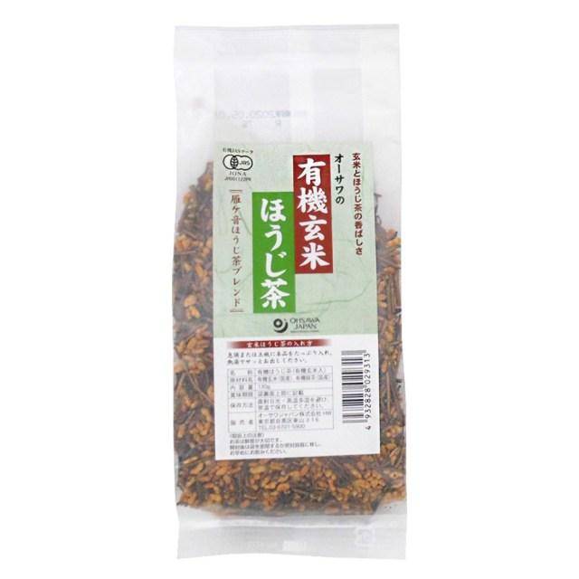オーサワの有機玄米ほうじ茶 130g