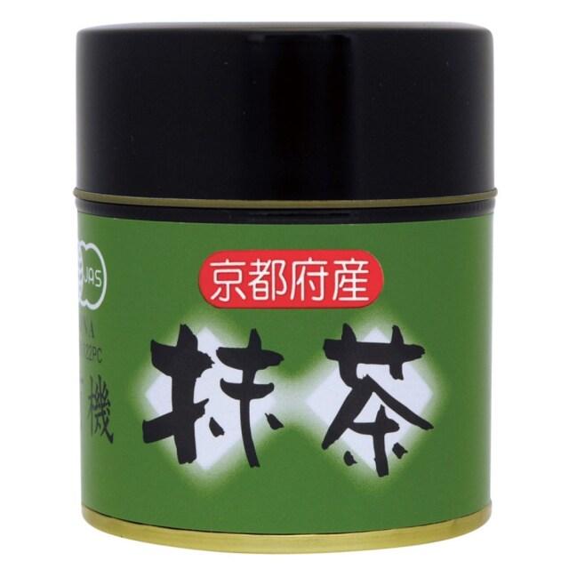 有機抹茶 (缶入り) 30g