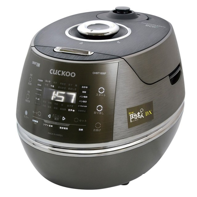 CUCKOO New圧力名人DX(超高圧発芽玄米炊飯器) 一升炊き