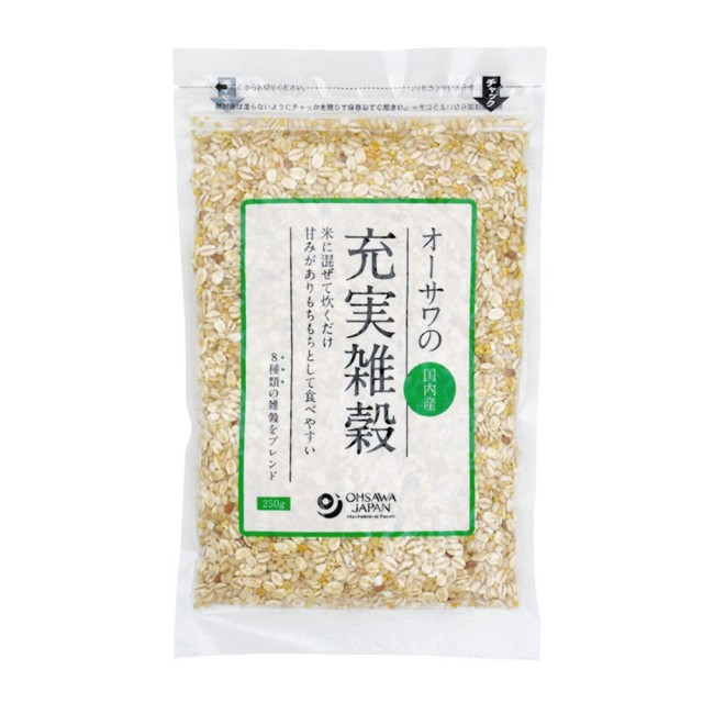 オーサワの充実雑穀(国内産) 250g