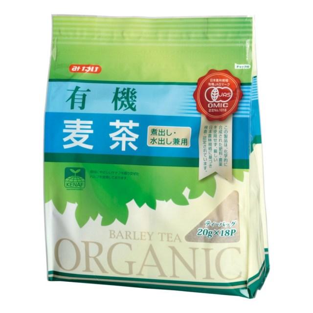みたけ有機麦茶 360g(20g×18袋)