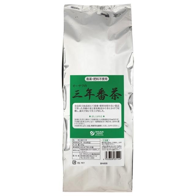 オーサワの三年番茶 500g