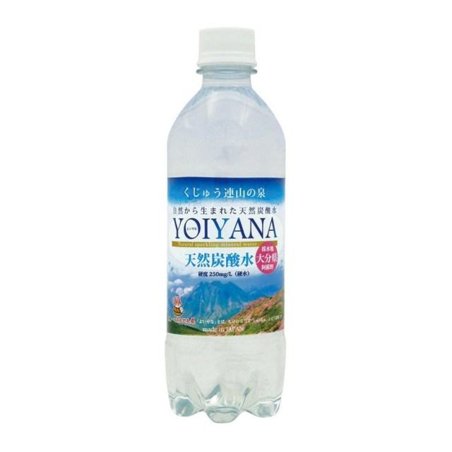 天然炭酸水 YOIYANA(よいやな) 500ml