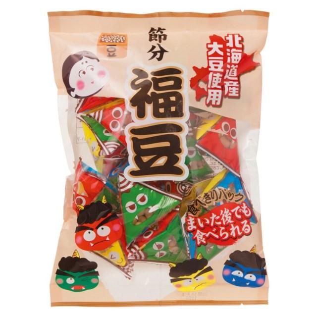 北海道産大豆節分福豆(テトラパック入) 112g(個包装込)