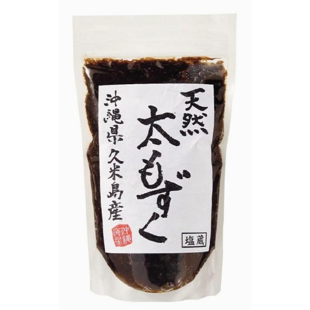 久米島産天然太もずく(塩蔵) 500g
