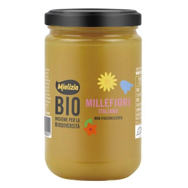 ミエリツィア イタリア産 有機百花ハチミツ 400g