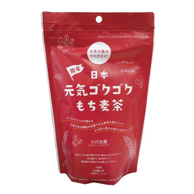 日本元気ゴクゴクもち麦茶 100g(5g×20)