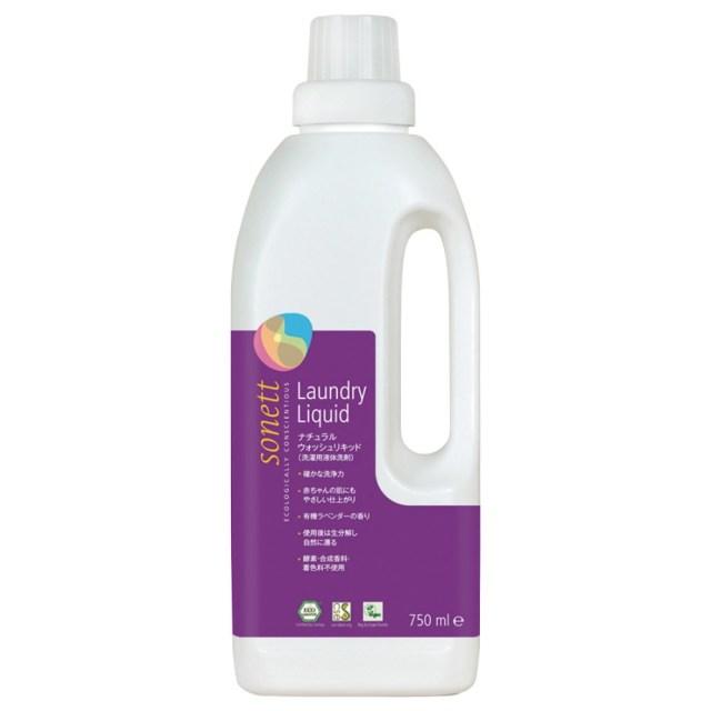 ソネット ナチュラルウォッシュリキッド(洗たく用液体洗剤) 750ml
