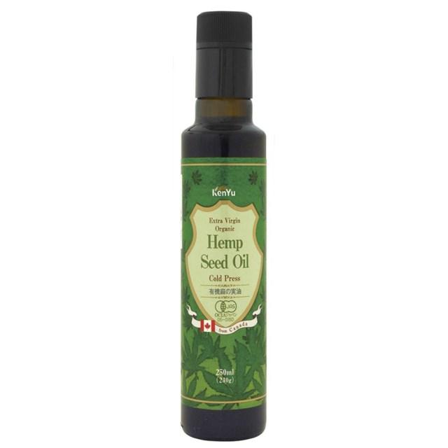有機麻の実油(ビン) 230g