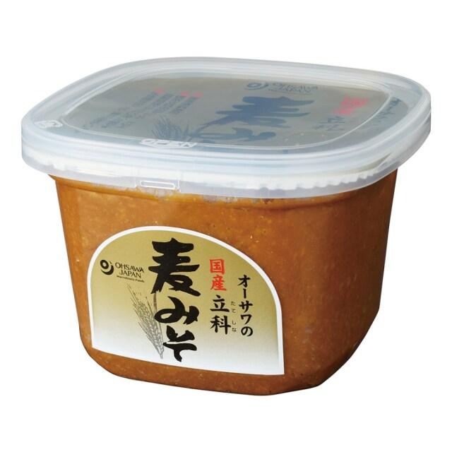 国内産立科麦みそ (カップ) 750g