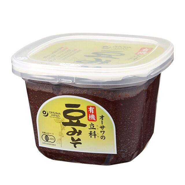 有機立科豆みそ (カップ) 750g