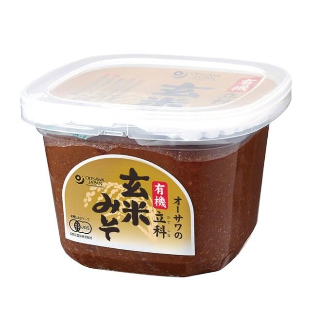 有機立科玄米みそ (カップ) 750g